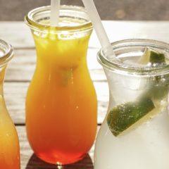 Erfrischende Sommergetränke