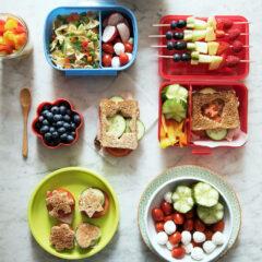 Gesunde und schmackhafte Snacks für Kinder