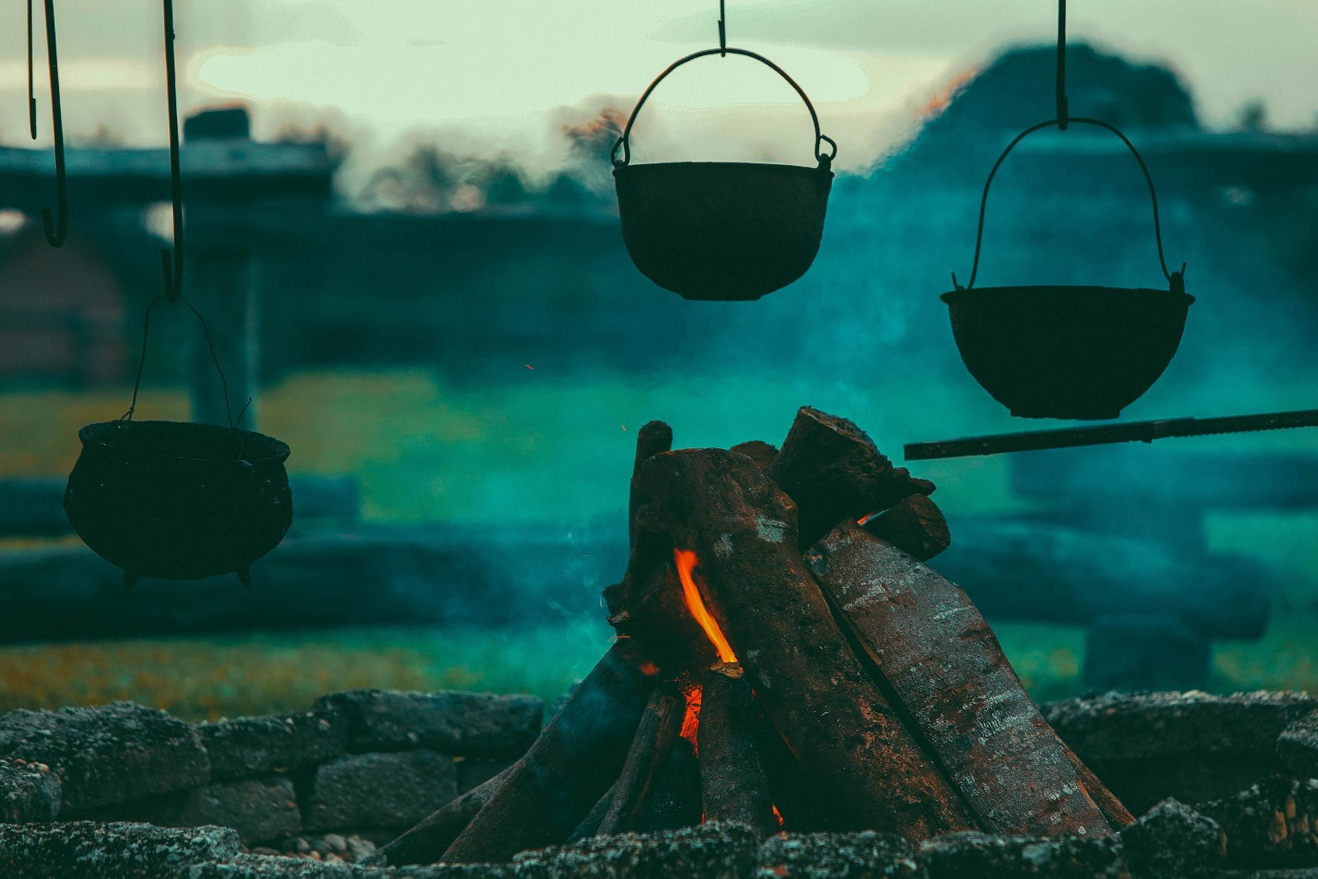 Wilde Küche – Kochen über dem Feuer